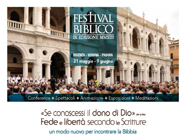 Festival Biblico Vicenza Padova Verona